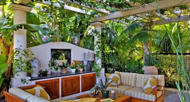 庭院设计 深圳装修设计公司高清图片