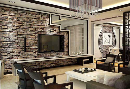 如何装修设计一个好看的电视背景墙