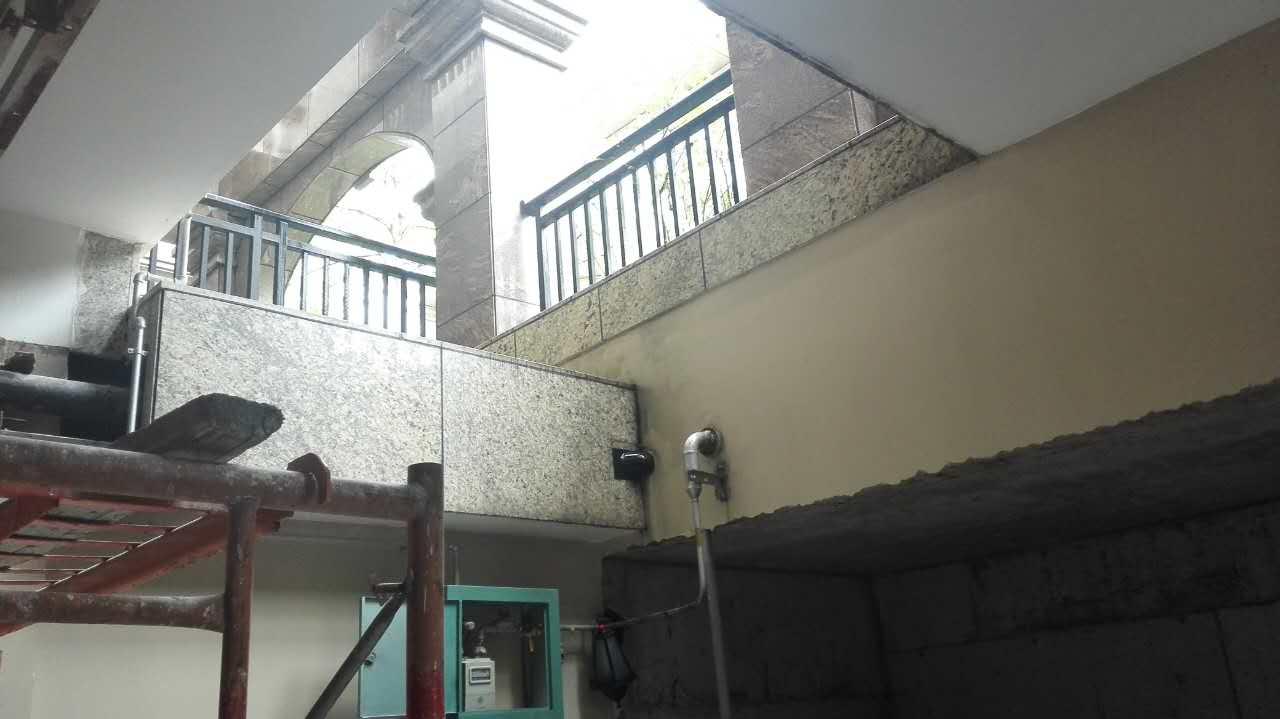 仁山智水现代别墅装修施工现场-深圳市雍庭装饰设计