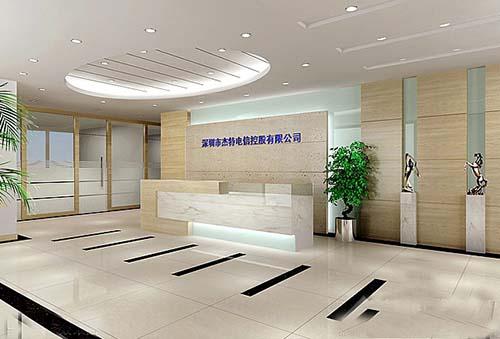 深圳装修公司浅谈如何装修设计公司前台