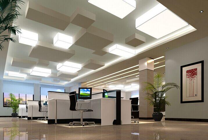 辦公室裝修地板磚合理運用