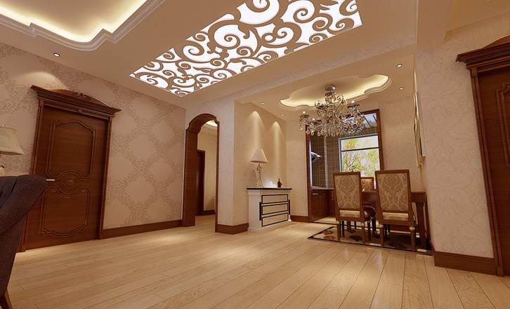 单独用在原建筑天花与墙壁处的称为石膏角线或石膏顶角线,多出现在