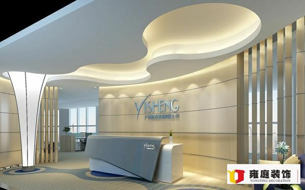 办公室装修前台如何设计?—深圳装修公司