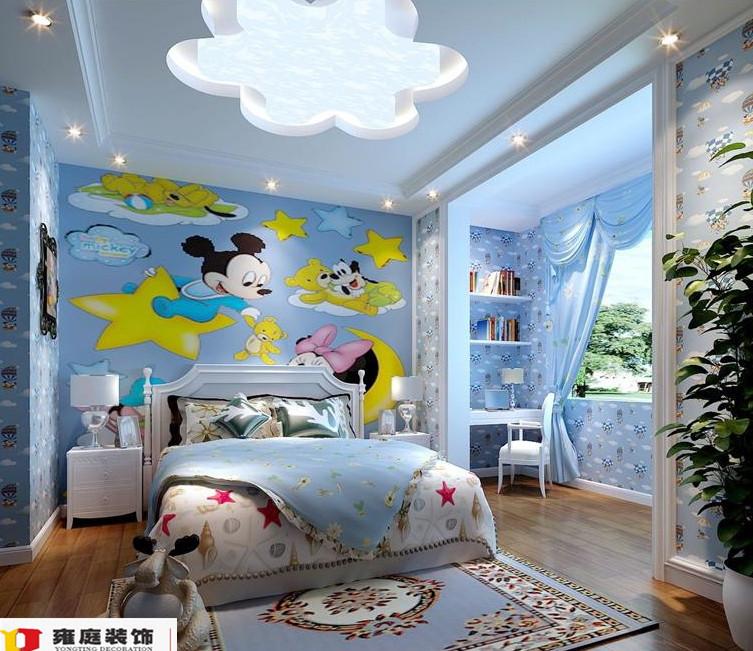别墅儿童房装修设计图片