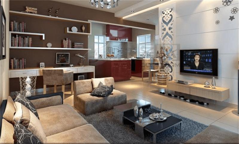 家庭装修设计过程中客厅